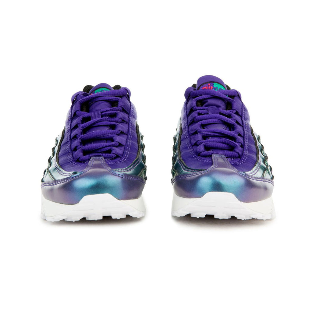 Nike Big Kid's Air Max 95 SE GS Purple Pink Green - KickzStore