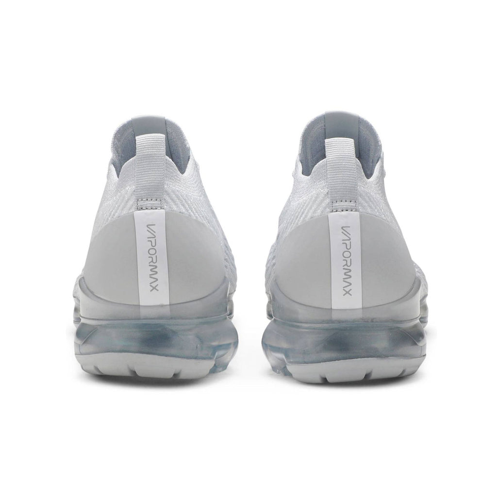 Nike Men's Air VaporMax Flyknit 3 White Pure Platinum - KickzStore