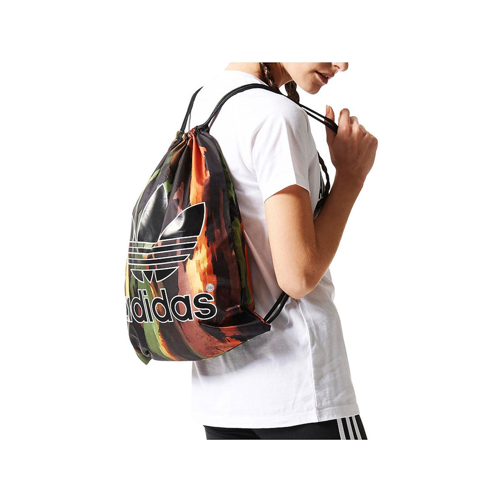Adidas Originals Unisex Real Tree Camo Training Gymsack Sport Bag Backpack - KickzStore