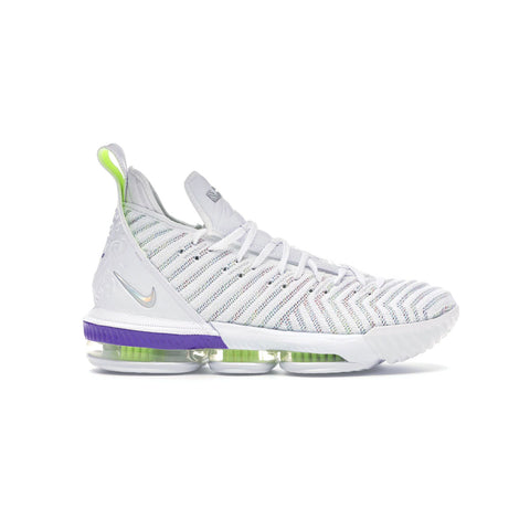 Nike Men's LeBron 16 'Buzz Lightyear' White Purple - KickzStore