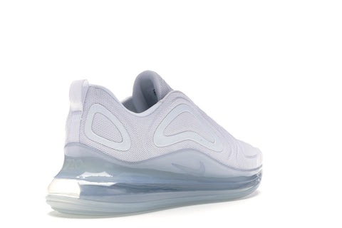 Nike Men's Air Max 720 White Metallic Platinum Running Shoes