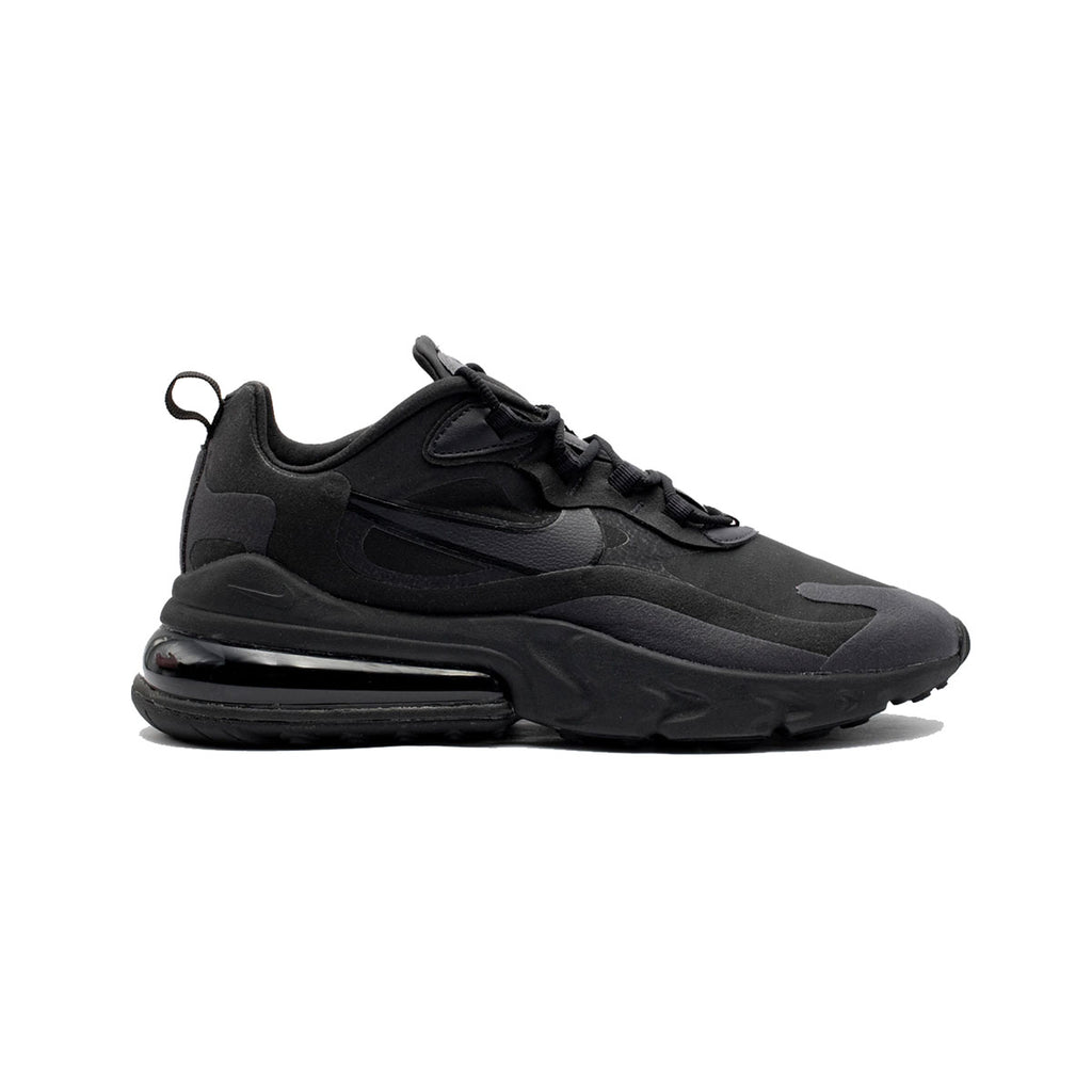 Nike Men's Air Max 270 React Hip Hop Triple Black