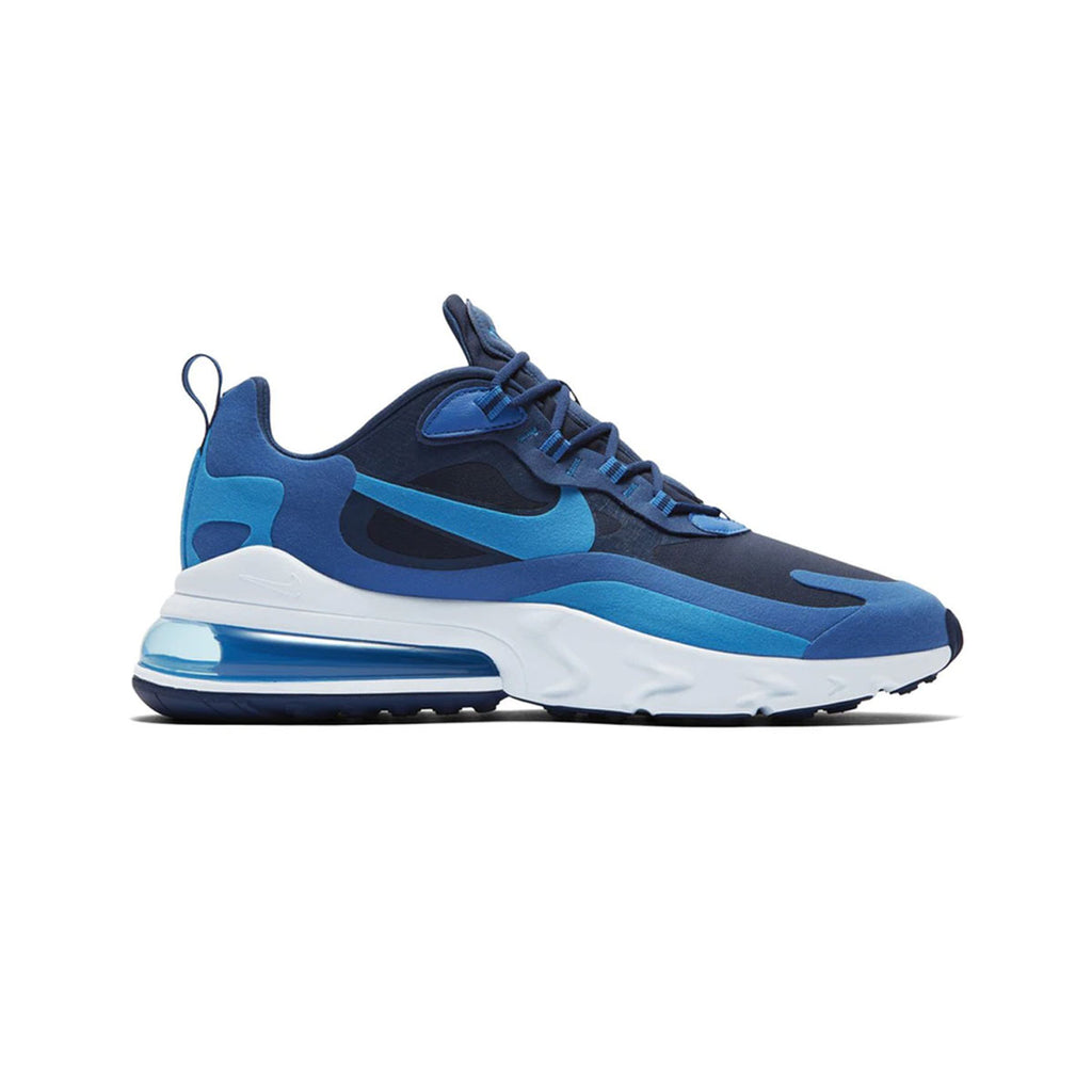 Nike Men's Air Max 270 React Impressionism Art Blue Void - KickzStore