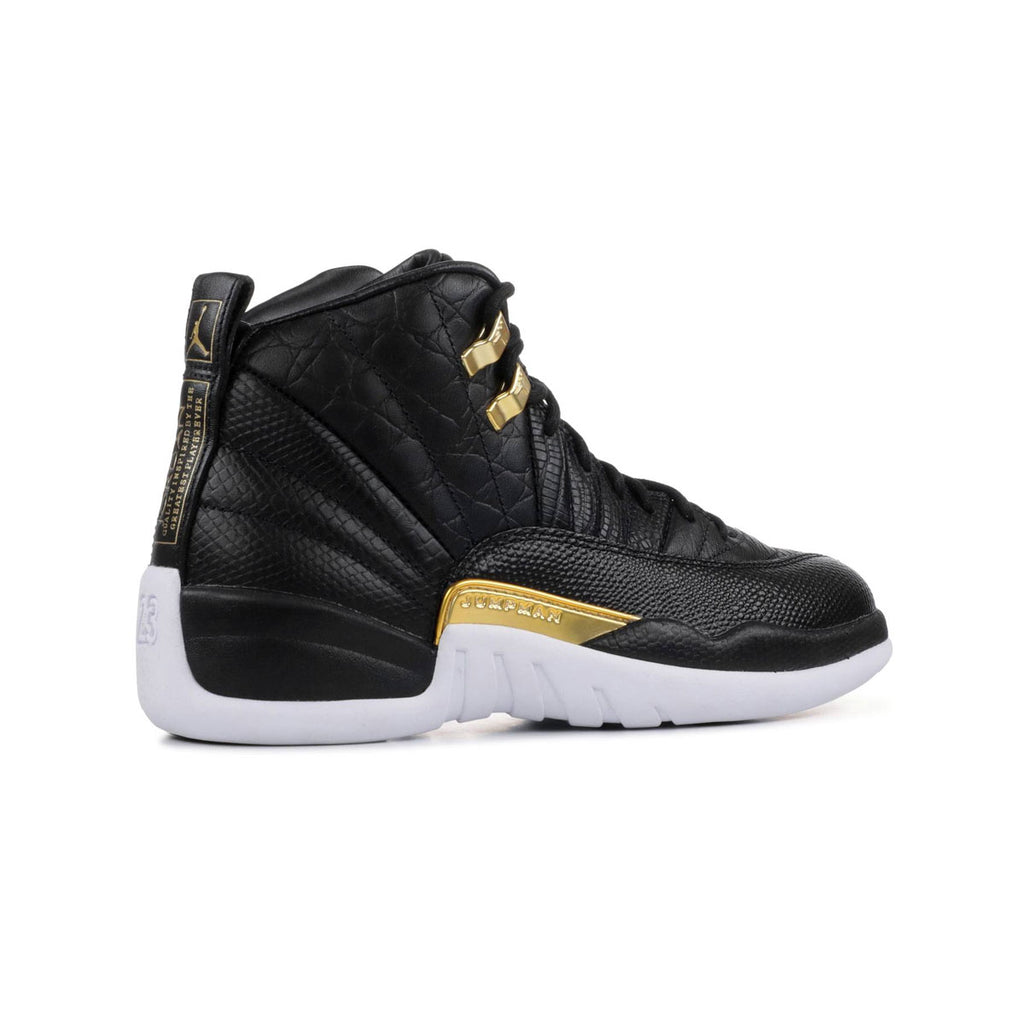 Air Jordan Women's 12 Retro Reptile Black - KickzStore