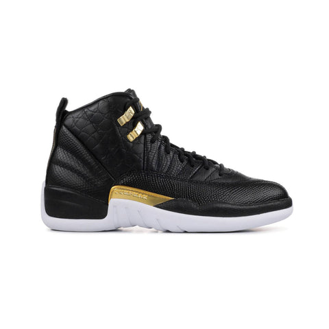 Air Jordan Women's 12 Retro Reptile Black