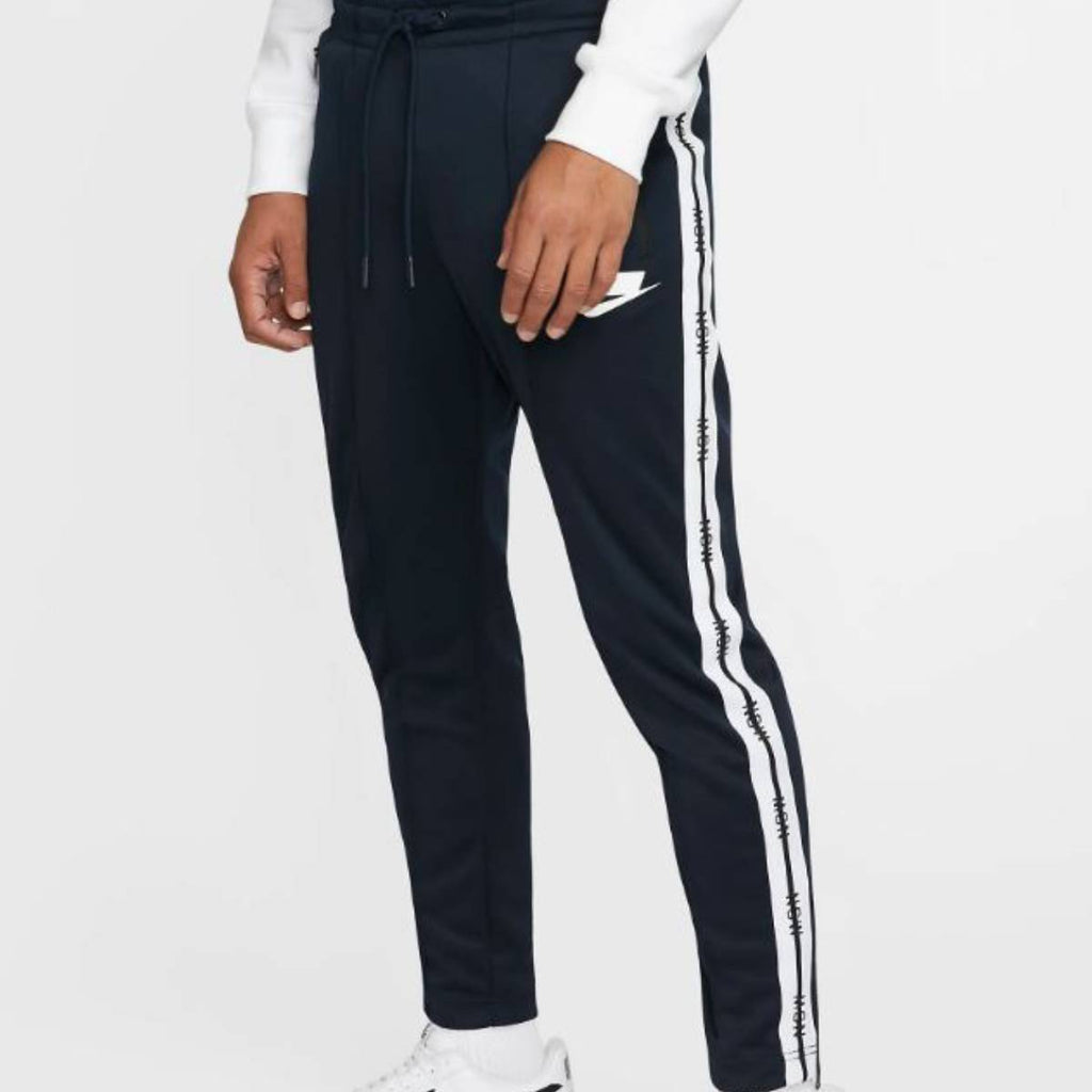 Nike Men's Sportswear NSW Tape Dark Obsidian White Track Pants