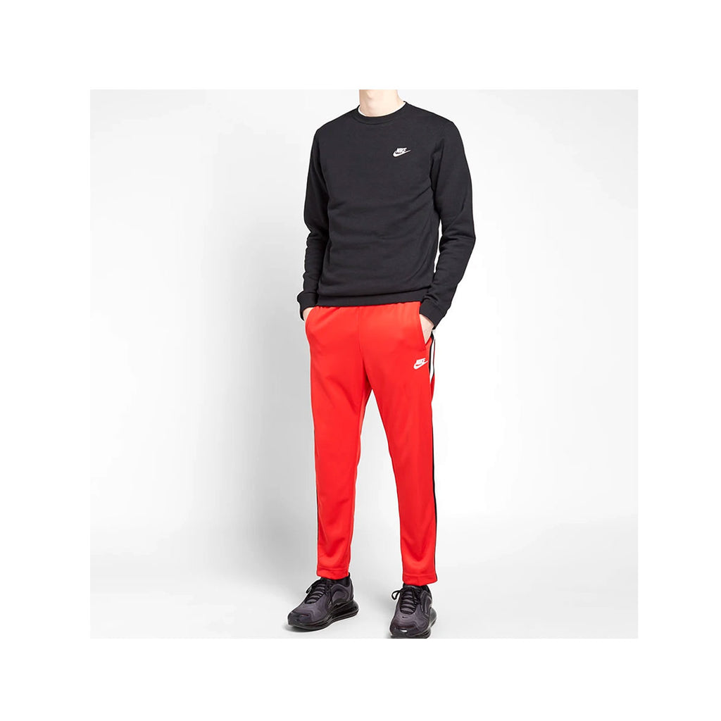 Nike Men's NSW Tribute OH Jogger Track Pants Red Black White - KickzStore