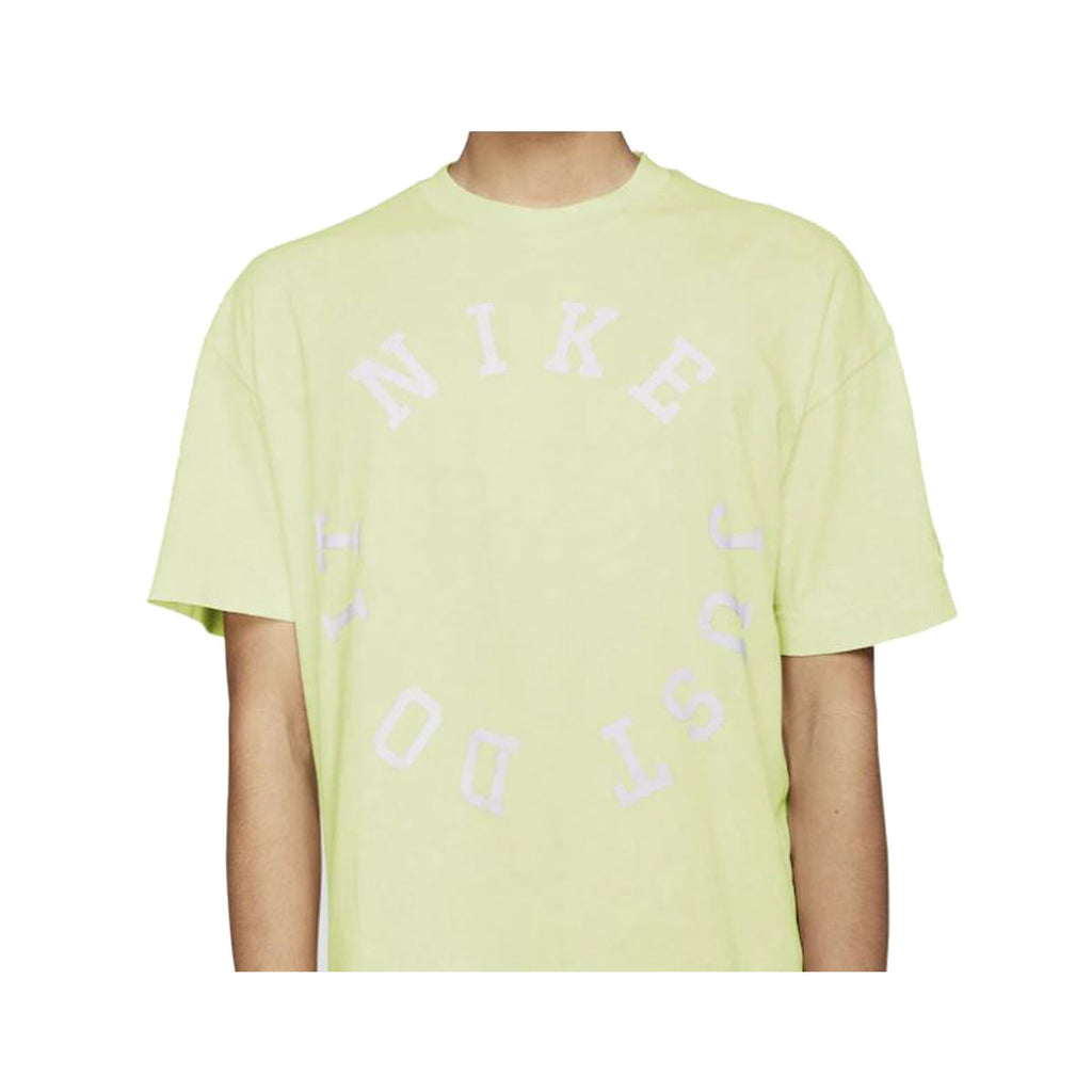 Nike Men's NSW Sportswear Washed Luminous Green Summit White S/S T-Shirt