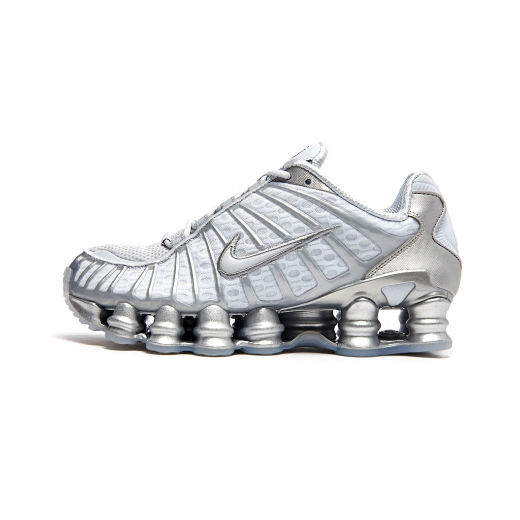 Nike Women's SHOX TL Chrome Pure Platinum