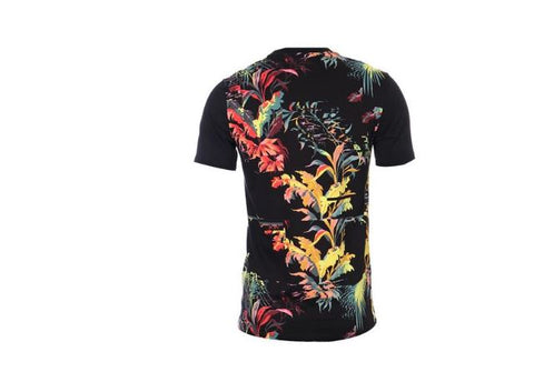 Nike Men's NSW Sportswear Black Palm Tree Floral Tee T-Shirt