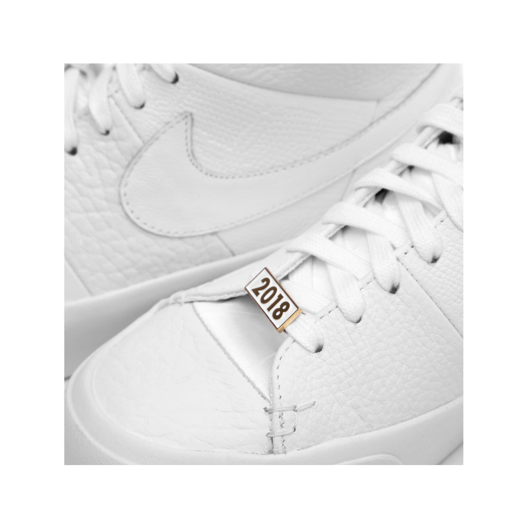 Nike Men's Blazer Royal QS 'Triple White'