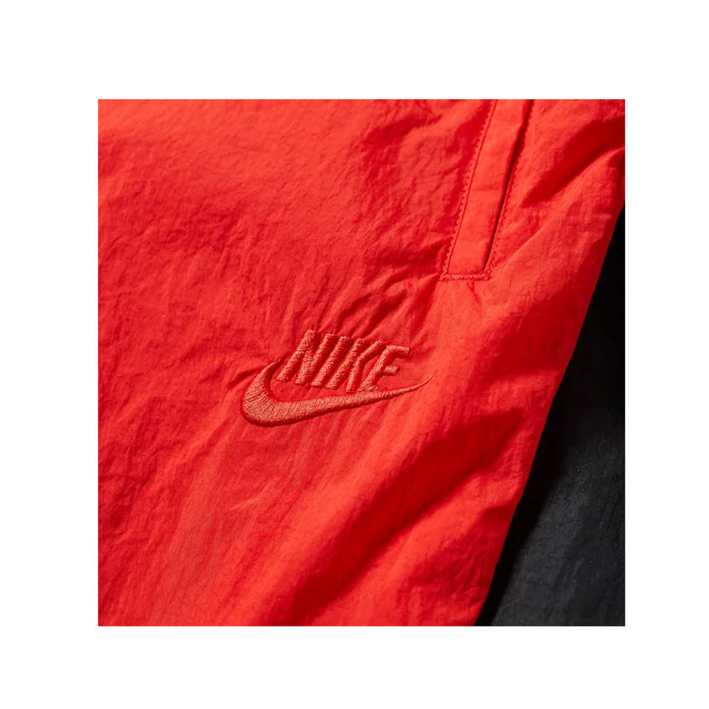 Nike Sportswear Men's NSW Swoosh Logo Woven Pants - Red Black White AR9894-657