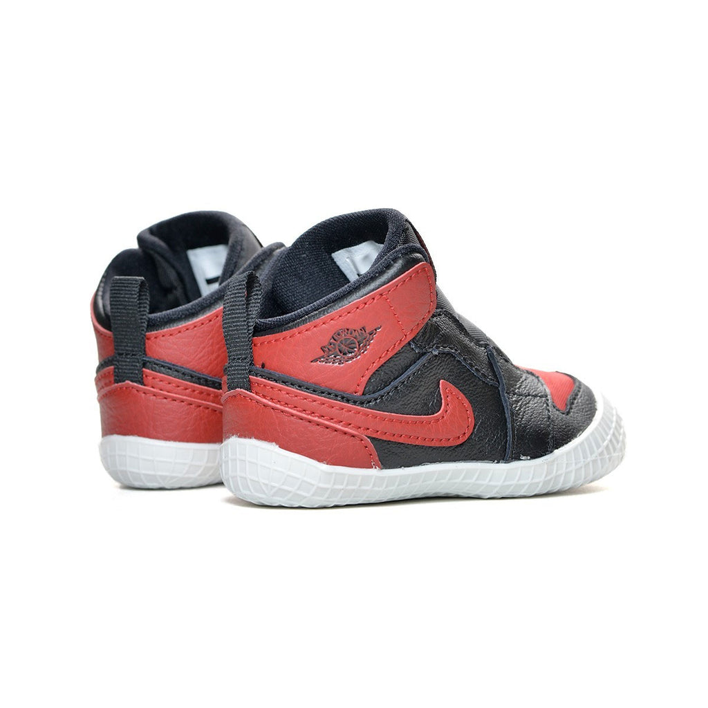 Air Jordan 1 I Crib Bootie Banned Bred - Black Red