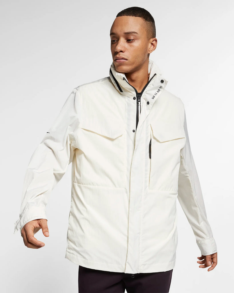 Nike Men's Tech Pack Thermore Insulation Jacket w/ Reversible Vest 3-IN-1 White