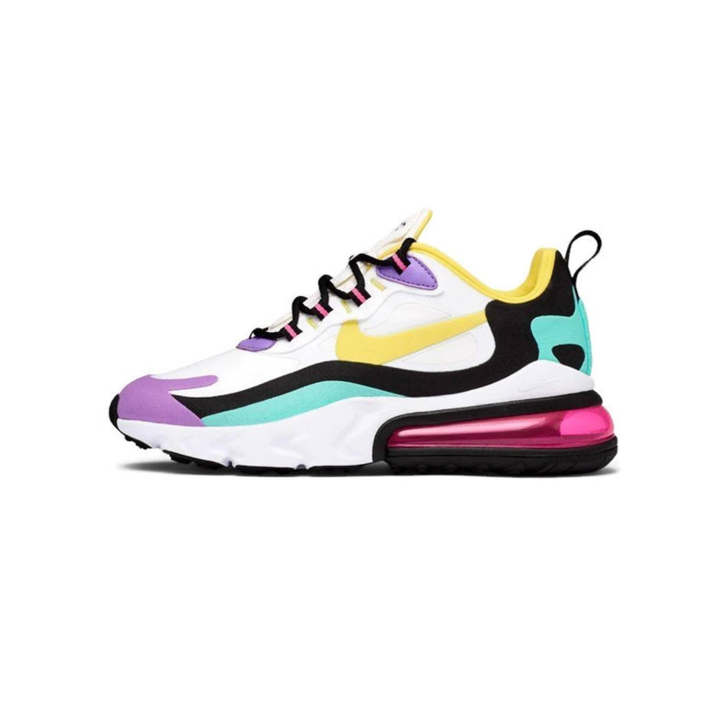 Nike Women's Air Max 270 React Geometric Abstract Bright Violet