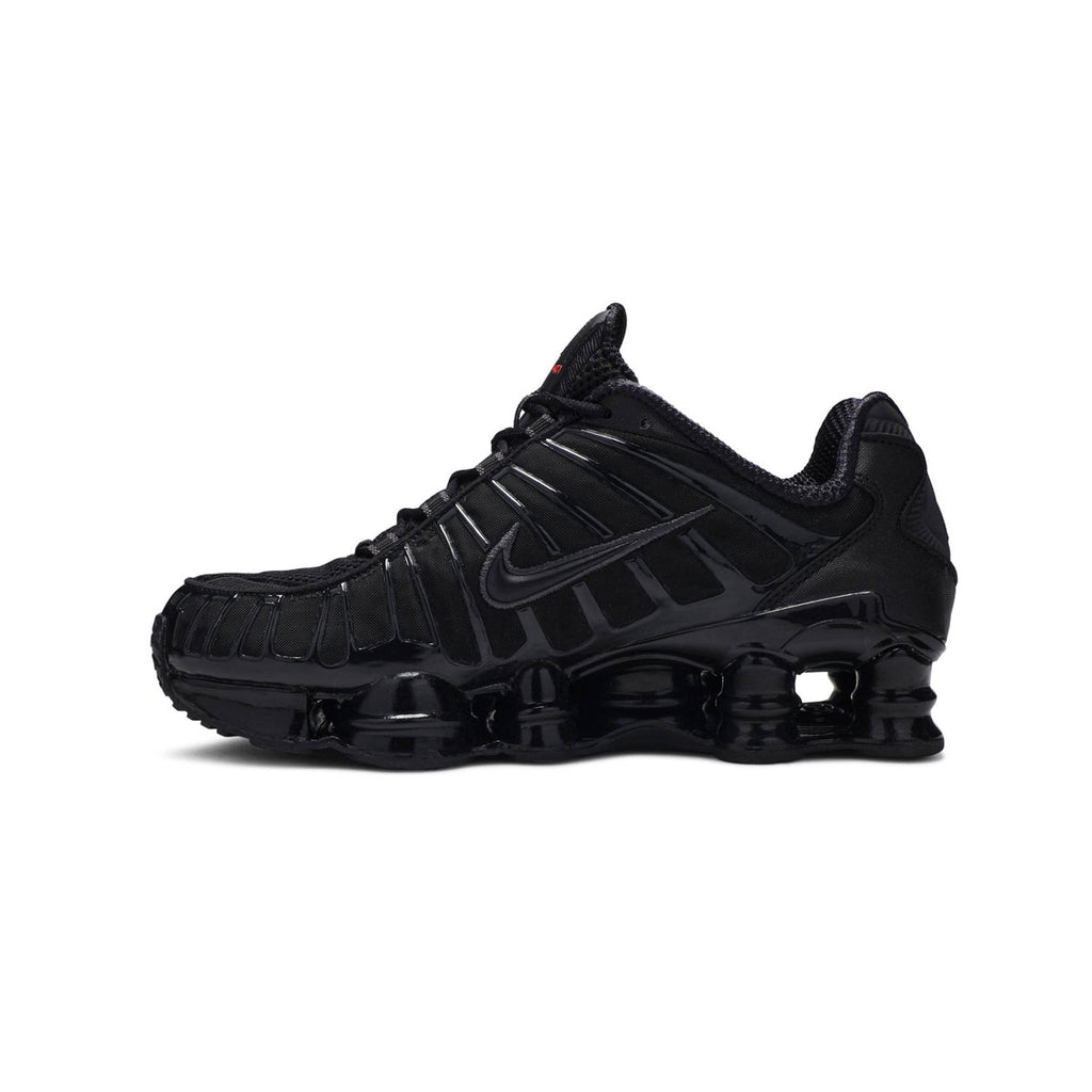 "Nike Men's Shox TL ""Metallic Hermatite"" Triple Black - KickzStore"