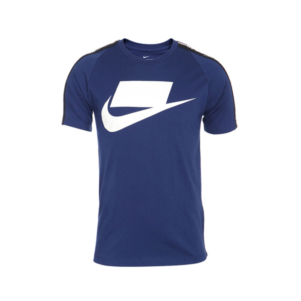 Nike Men's Sportswear NSW Logo Blue Void White T-Shirt - KickzStore