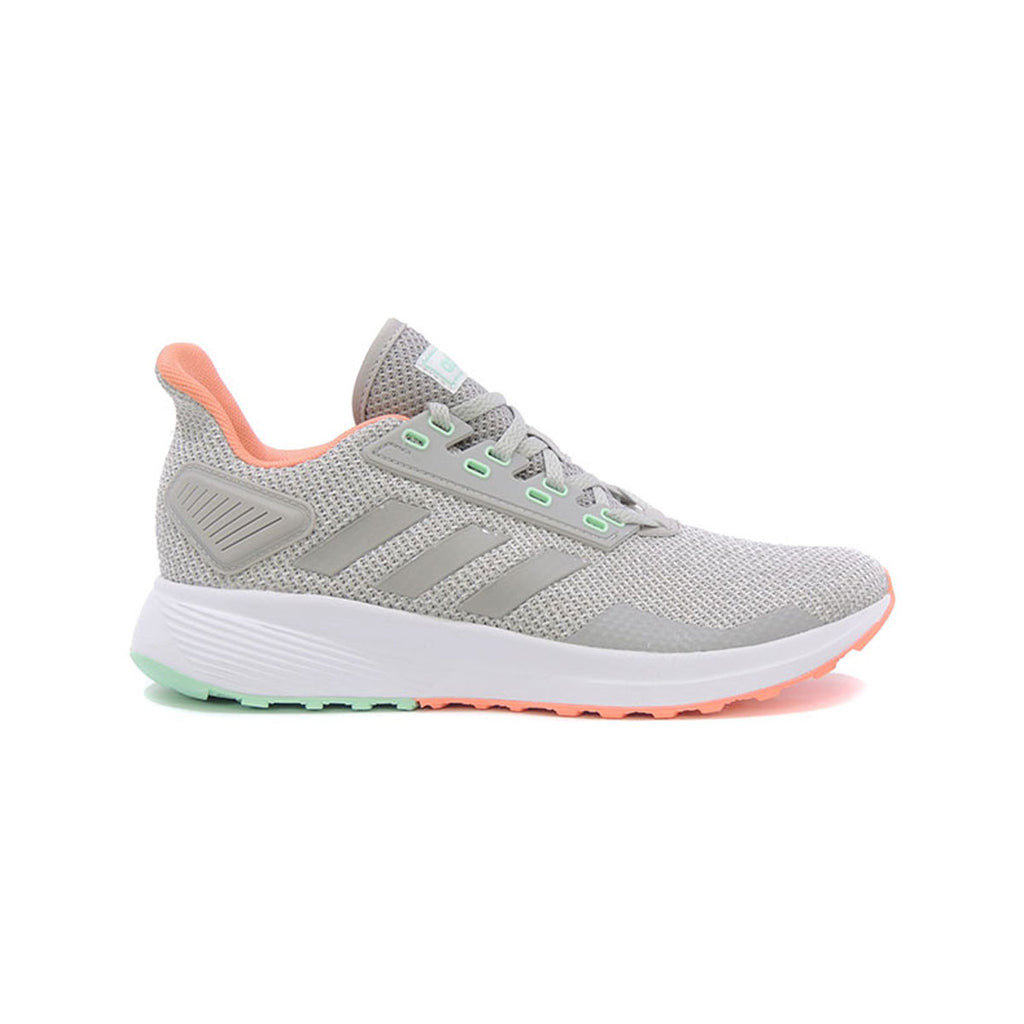 Adidas Women's Duramo 9 Running Shoes Grey Coral - KickzStore