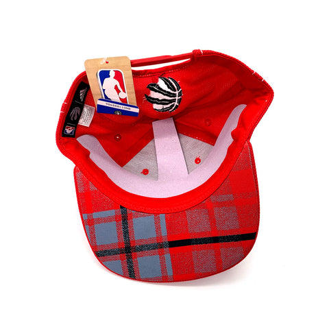Adidas NBA Toronto Raptors Red Snapback Hat