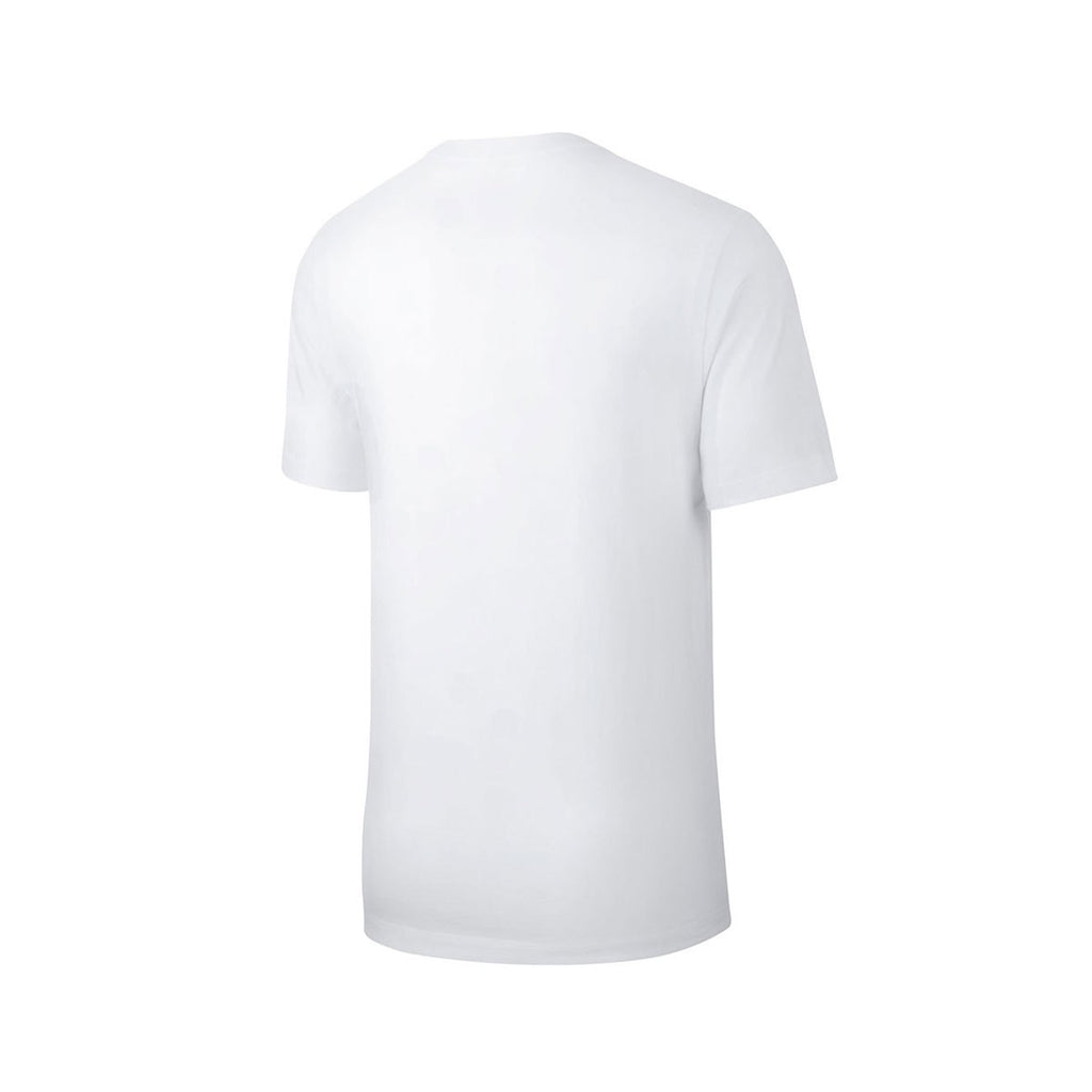 Nike Men's NSW Sportswear Stylish Dog Graphic White T-Shirt