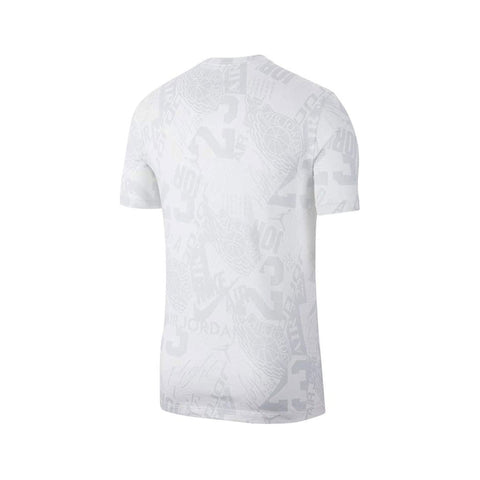Air Jordan Men's AOP T-Shirt White - KickzStore