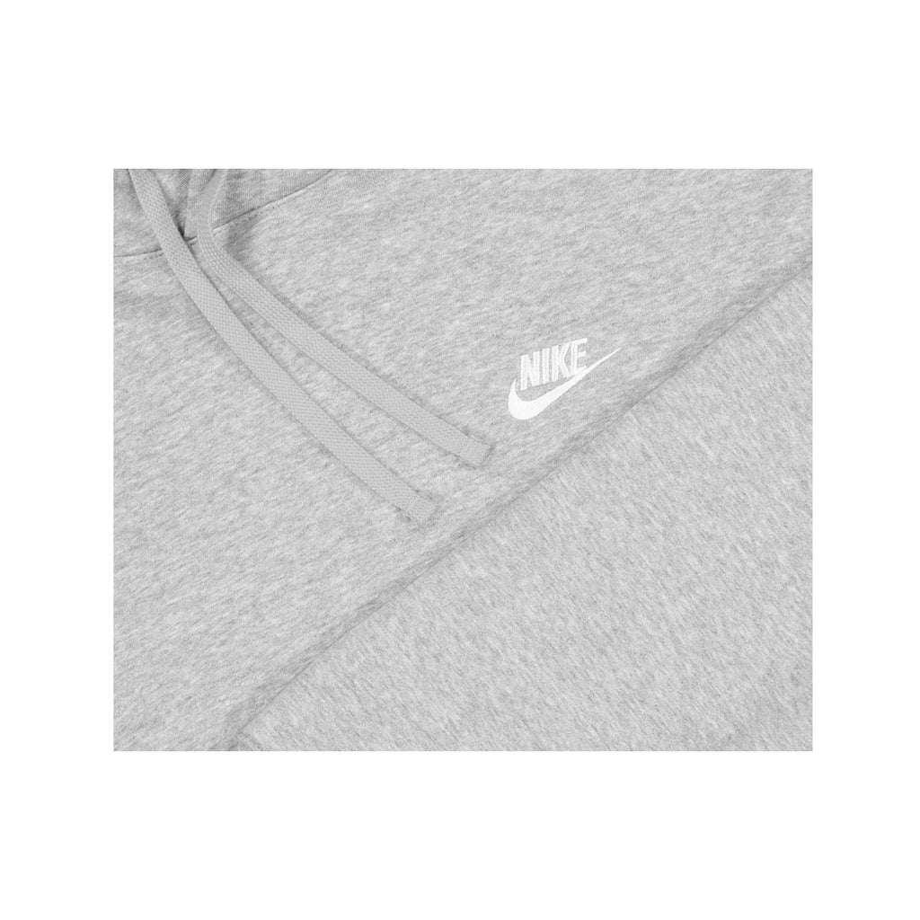 Nike Men's NSW Sportswear Club Fleece Pullover Hoodie Dark Heather Grey - KickzStore