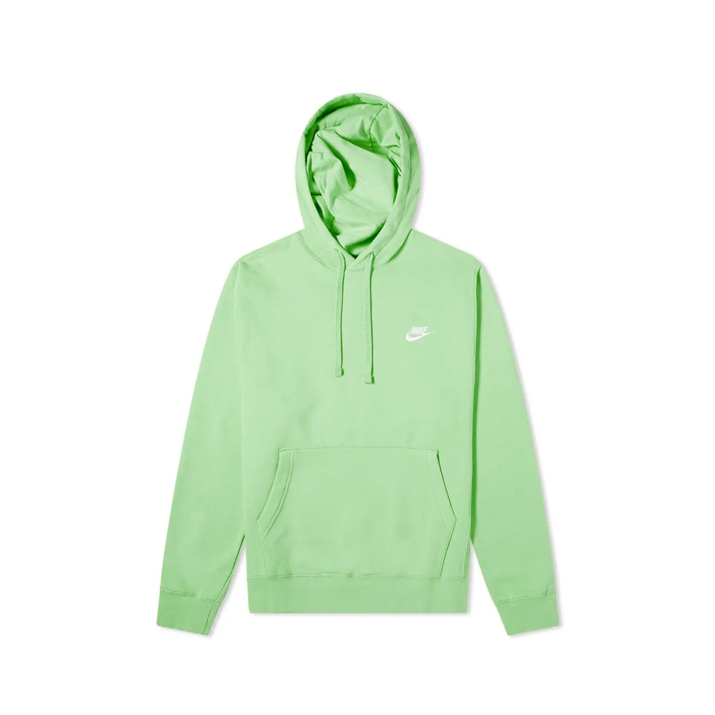 Nike Men's Sportswear NSW Club Pullover Hoodie Green Nebula
