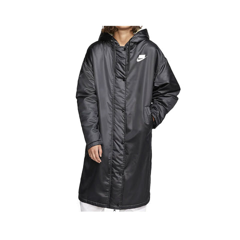 Nike Women's Sportswear Sport Pack Synthetic Fill Parka Black White