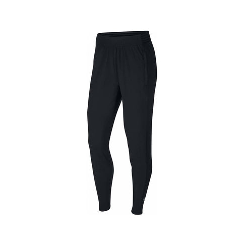 Nike Women's Essential Dri-FIT Warm Running Pants Black Reflective Silver