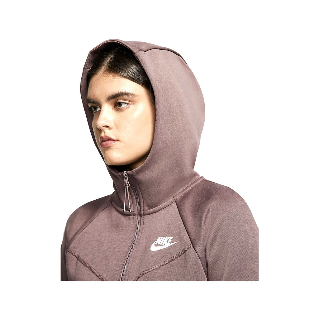 Nike Women's NSW Windrunner Tech Fleece Zip Up Hoodie Plum - KickzStore