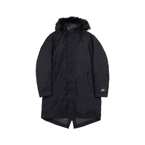 Nike Men's NSW Down Fill Hooded Parka Black