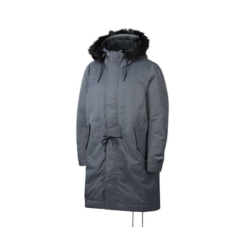 Nike Men's Sportswear Down Fill Hooded Parka Dark Grey