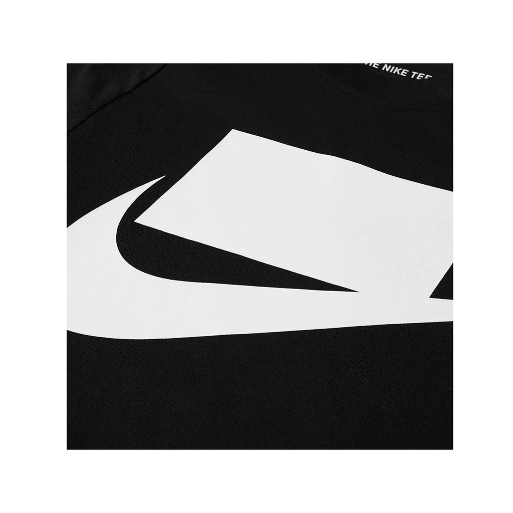 Nike Men's NSW Logo T-Shirt black White - KickzStore