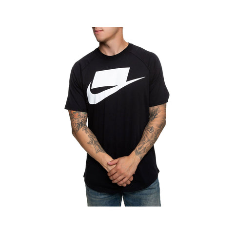 Nike Men's NSW Logo T-Shirt black White