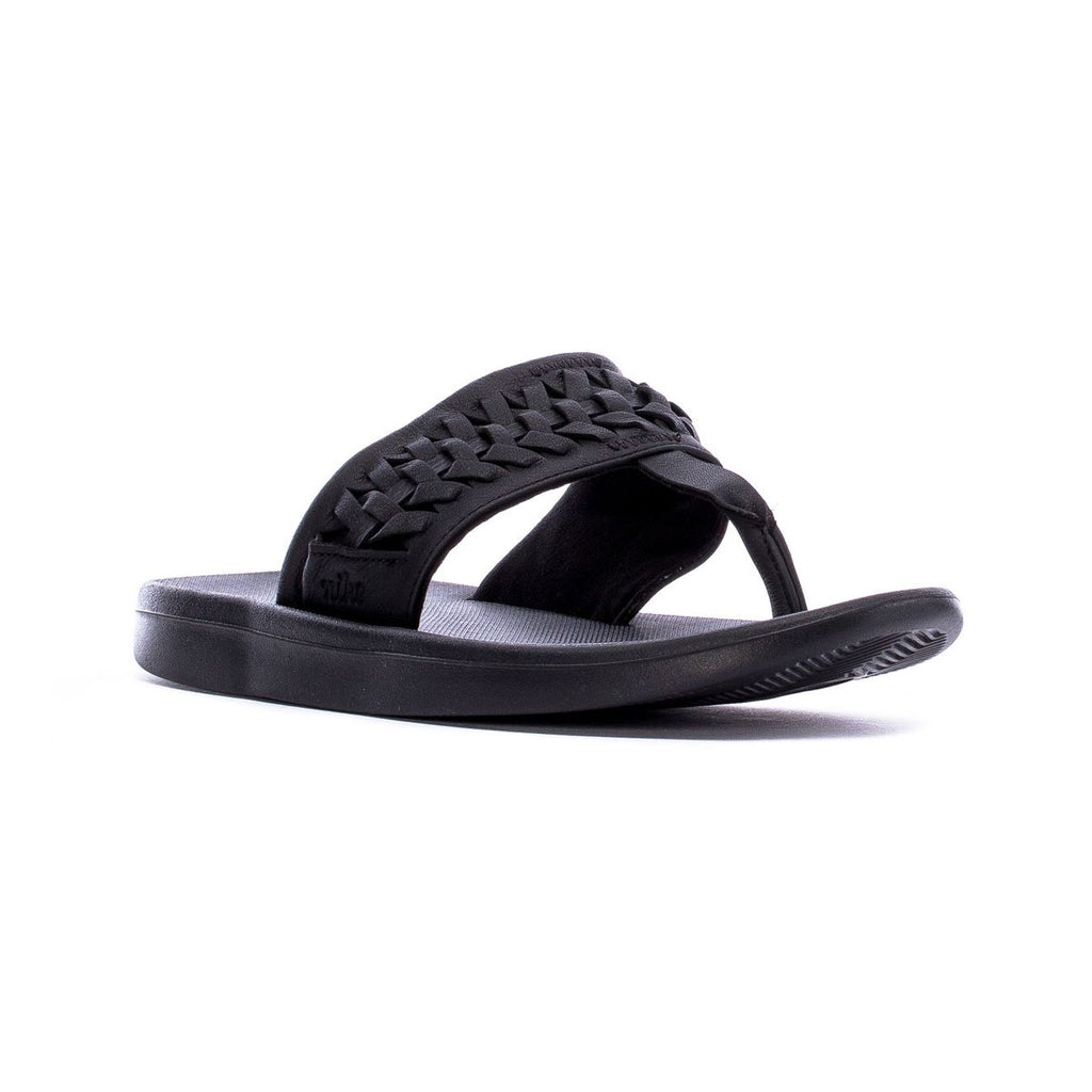 Nike Women's Bella Kai Thongs 2 Slides Black - KickzStore