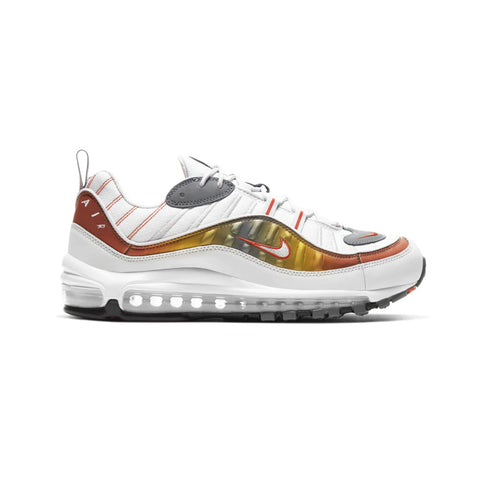 Nike Men's Air Max 98 SE Vast Grey Team Orange