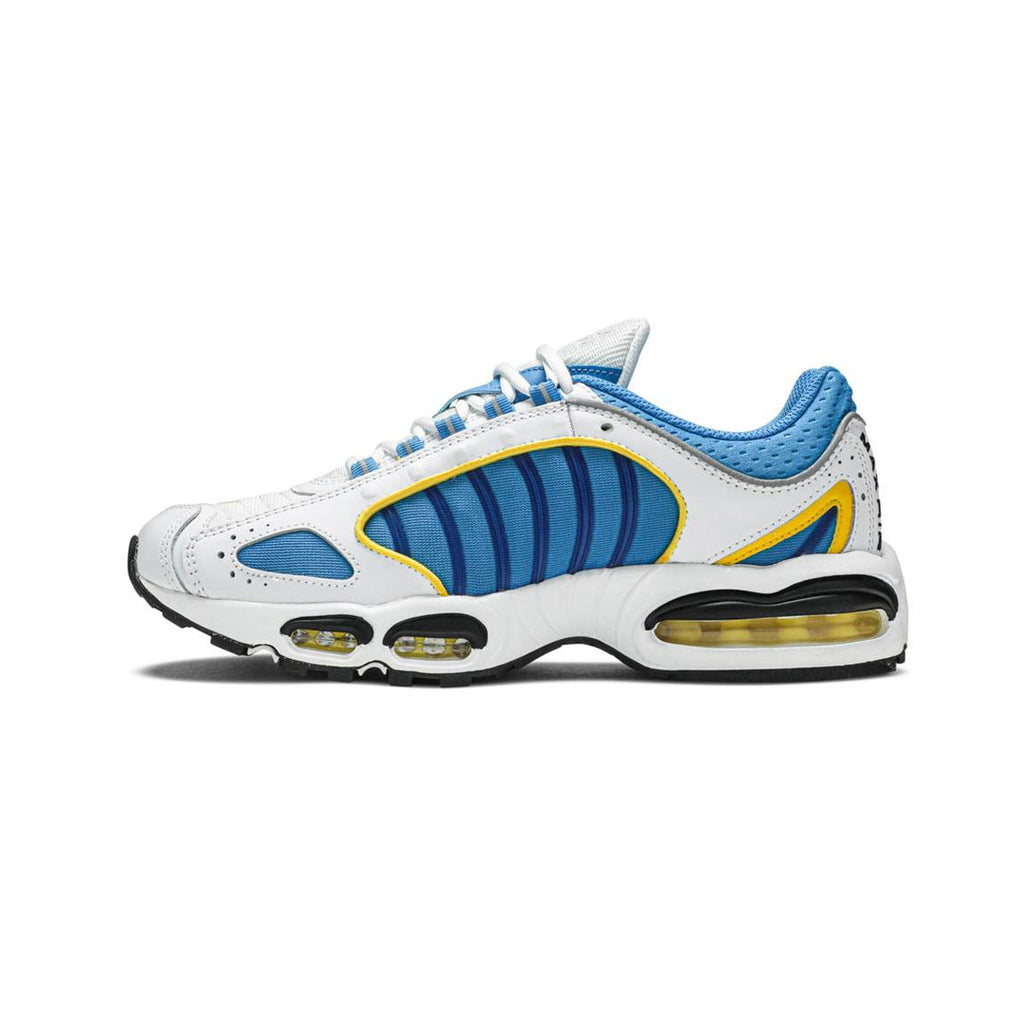 Nike Men's Air Max Tailwind 4 IV White Blue Yellow