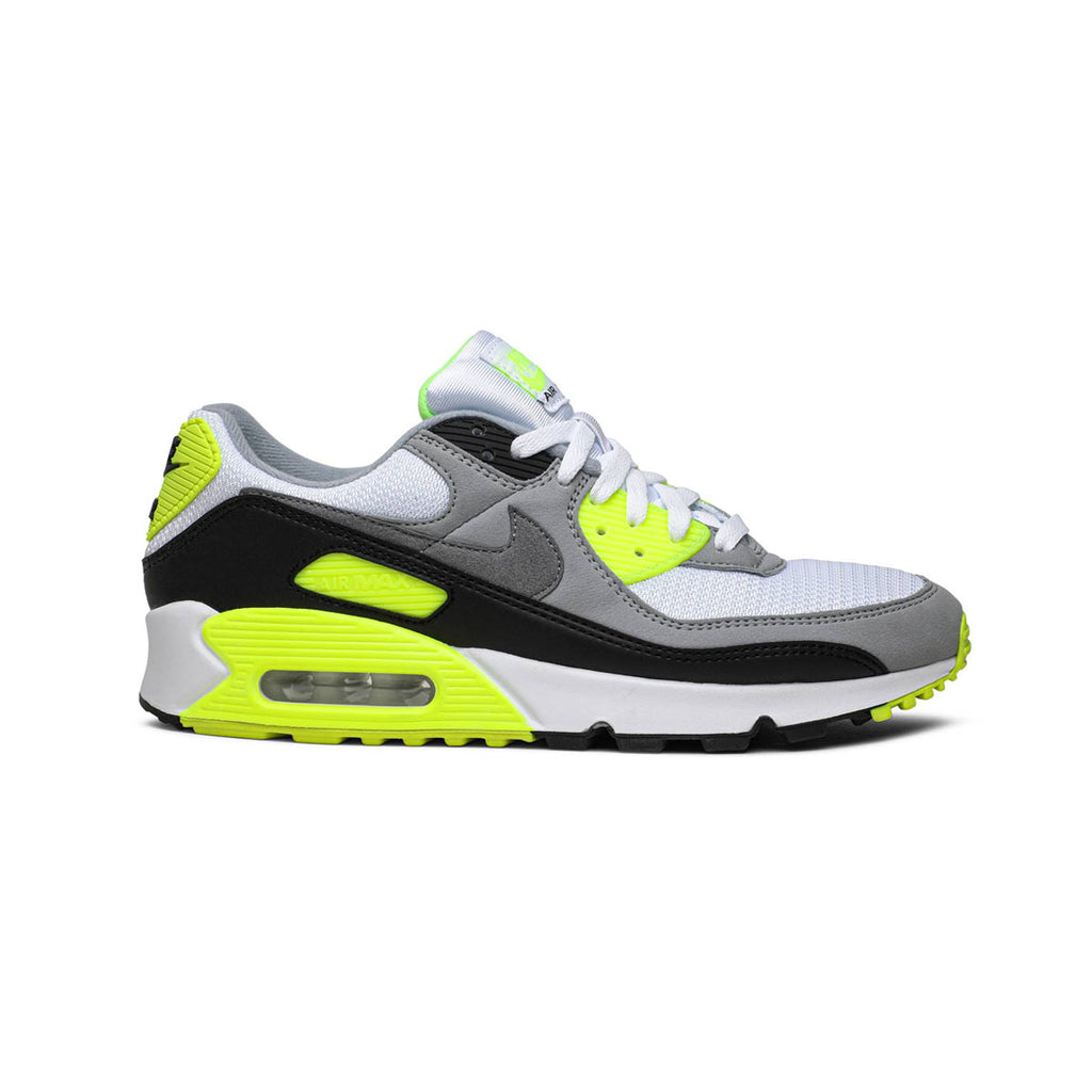 Nike Women's Air Max 90 Recraft Volt White Gray