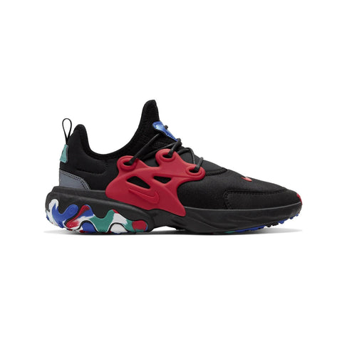 Nike Big Kid's React Presto Black Multicolor