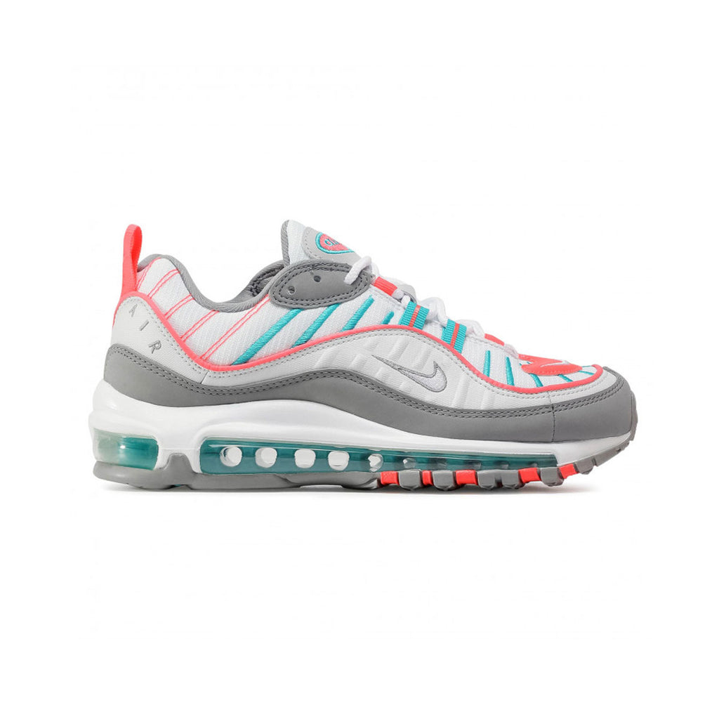 Nike Women's Air Max 98 Particle Grey Aqua - KickzStore