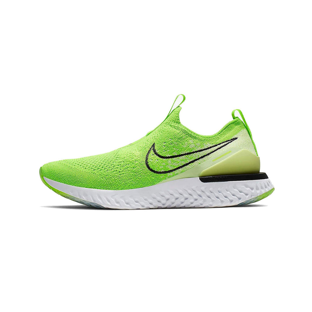 Nike Women's Epic Phantom React Flyknit Electric Green