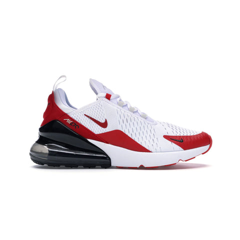 Nike Men's Air Max 270 White University Red