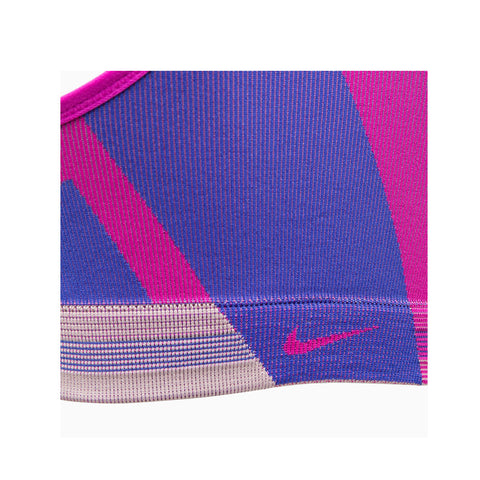 Nike Women's Icon Clash Light-Support Sports Bra Pink Blue