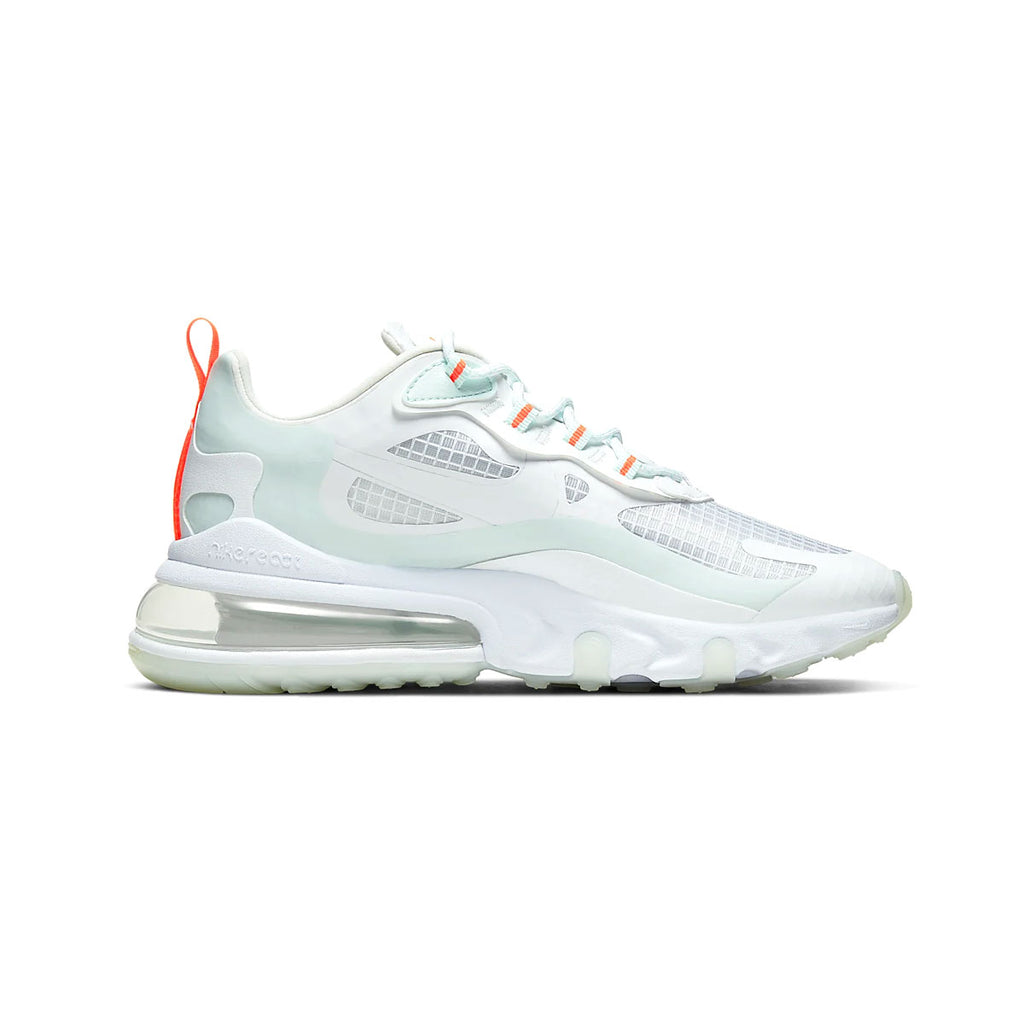 Nike Women's Air Max 270 React SE White Orange