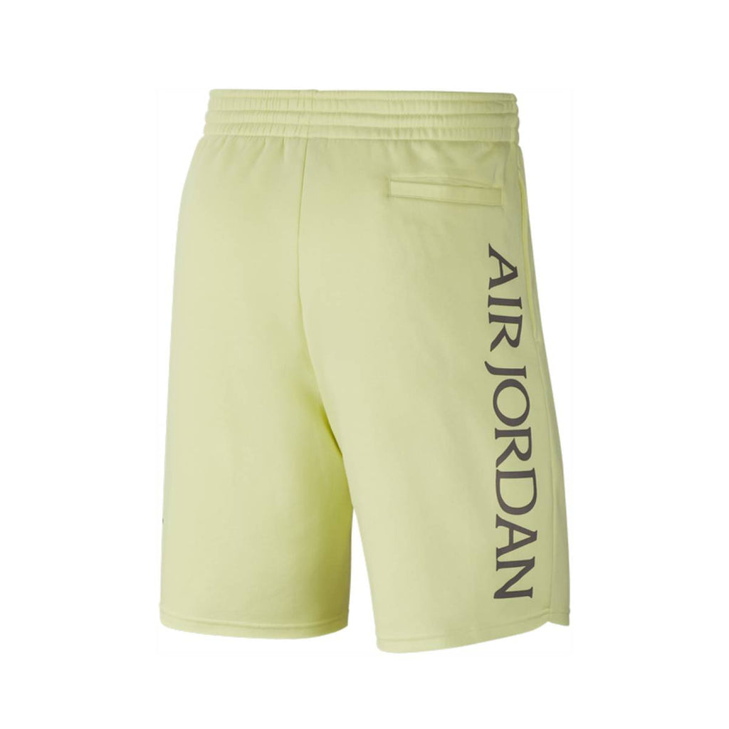 Air Jordan Men's Classic Nike Air Jumpman Logo Fleece Shorts Luminous Green