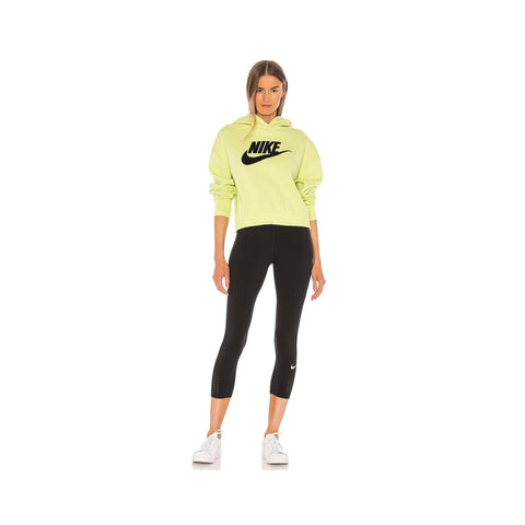 Nike Women's  Sportswear Icon Clash Fleece Hoodie Limelight