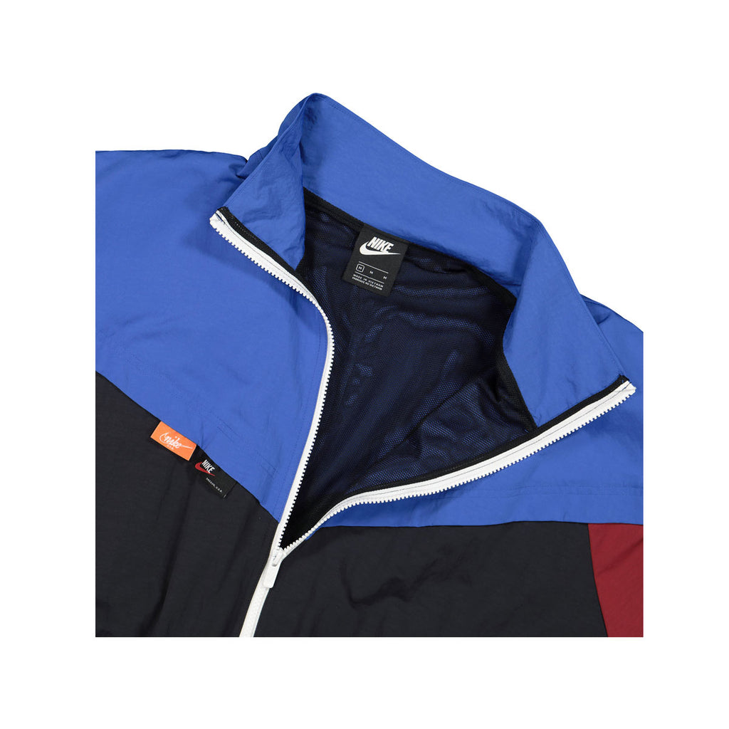 Nike Women's NSW Icon Clash Woven Track Jacket Blue Black - KickzStore