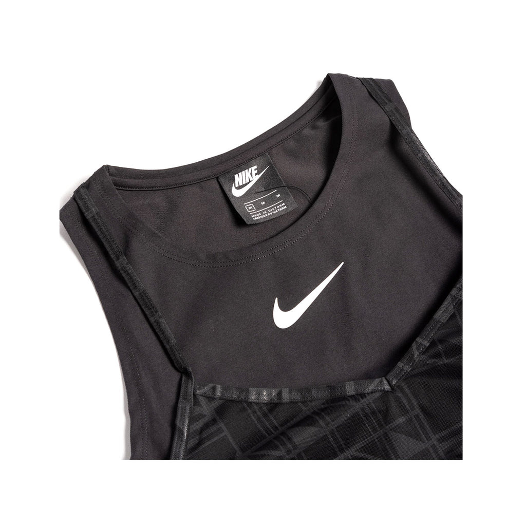 Nike Women's Sportswear NSW Indio Layered Tank Dress Black