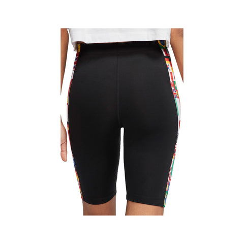 Nike Women's NSW Flag Pack Biker Shorts Black
