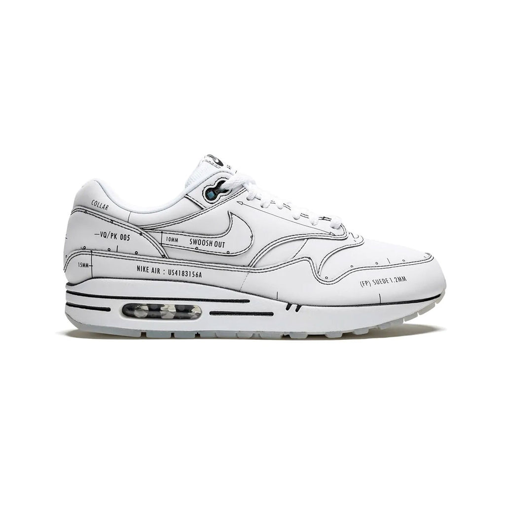 Nike Men's Air Max 1 Tinker Schematic Sketch to Shelf